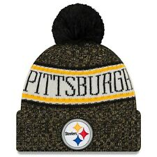 Pittsburgh Steelers New Era 2018 NFL Official On-Field Sideline Sport Knit Hat