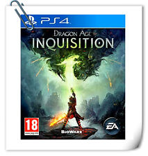 PS4 DRAGON AGE: INQUISITION SONY PlayStation RPG Games Electronic ART EA