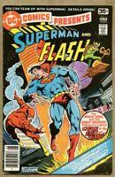 DC Comics Presents #1-1978 fn+ 6.5 Garcia-Lopez Superman Flash
