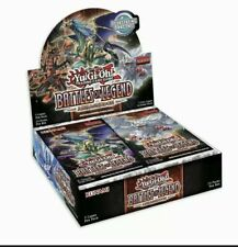 YUGIOH BATTLES OF LEGEND: ARMAGEDDON BOOSTER BOX FACTORY SEALED! IN HAND!!!!!!