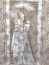 Tapestry Wall HangingCELTIC ANGEL100% Fair Trade red
