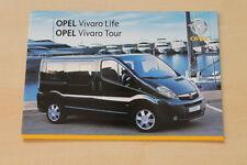 75849) Opel Vivaro Life & Tour Prospekt 07/2008