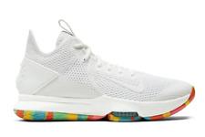 Nike LeBron Witness 4 Men's Basketball Shoes White Sport Sneakers - BV7427-102