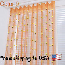 Tulip String Curtain For Living Room Doors Yarn Thread Decorations Polyester New