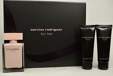 For Her by Narciso Rodriguez 50ml Eau De Parfum EDP Spray GIFT SET
