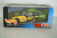 Hot Wheels Racing NASCAR #97 John Deere Black Chrome Deluxe 1:24 #26665 NIB 2000