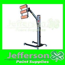 SHORT WAVE 3 BANK INFRARED PAINT CURING SYSTEM INFRA RED HEATER UNIT LIGHT