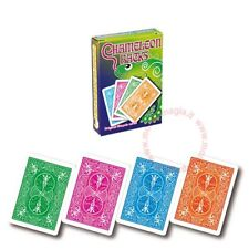Chameleon Back Card Magic Trick With Box And Instructions No Skill Required **UK