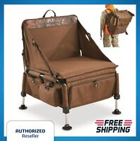 Turkey WaterFoul Duck Goose Hunting Chair XL Padded Foldable Portable Storage