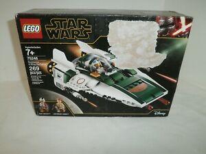 LEGO Star Wars #75248 Resistance A-Wing Starfighter Sealed NIB