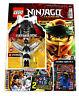 LEGO® Ninjago Legacy Magazin Mit Poster Figur Carmadon Limitierte Karte Nr.6