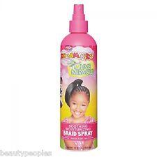African Pride Kids olive miracle soothing moisturizing braid spray