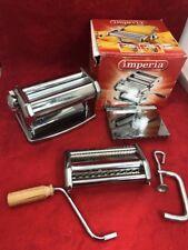IMPERIA Progressive iPasta Italian Pasta Machine Manual Made in Italy **