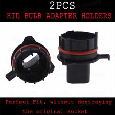 HID Conversion KIT Xenon Bulbs Holders Adaptor H7 2X For BMW E39 E60 Benz E200