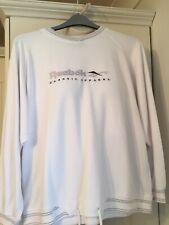 Ladies White Reebok Classic Sweatshirt Size 14