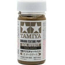 Tamiya Diorama Texture Paint - Soil Effect: Dark Earth  3.35 oz. (100ml) 87109