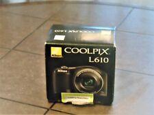 New in Open Box - Nikon COOLPIX L610 16.0 MP Camera - BLACK
