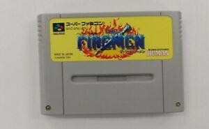 THE FIREMEN   Nintendo Super Famicom japanese SFC SNES Japan USED