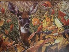 Jigsaw Puzzle Animal Wild Deer Doe Autumn Lady 1000 pieces NEW