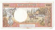 Tahiti , Papeete, 1000 francs ND (2000) # 88883