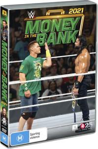 BRAND NEW WWE - Money In The Bank 2021 (DVD) R4 John Cena