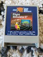 Flight Simulator II 2 GAME CARTRIDGE ATARI 400/800/800XL/1200XL/XE Vintage