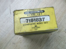BEDFORD CA MK2 1600cc PETROL SET NEW GENUINE VAUXHALL BEDFORD PISTON RINGS