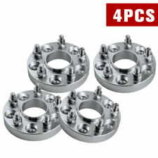 """4pcs 1""""(25mm) Hubcentric 5x4.5 Wheel Spacers Adapters Fits Ford Mustang Ranger"""