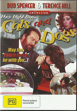 Bud Spencer: CATS AND DOGS New but UNSEALED ALL Regions (Any Player)