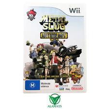 Metal Slug Anthology (Wii) Nintendo - Run & Gun Compilation - PAL - Rare