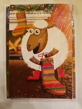 Sheep Holiday greeting cards unopened 5 pack