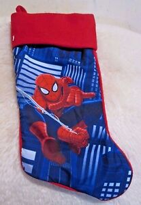 New with Tag - Marvel Captain America Stocking ( Spider-Man  )