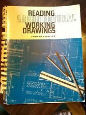 Reading Architectural Working Drawings By Edward J Muller Paperback