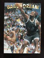 Shaquille O'Neal 1994 Dare to Dream Promo Basketball card Orlando Magic NM
