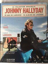 Johnny Hallyday La collection officielle Livre CD Lorada