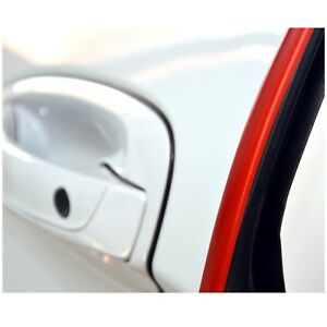 RICHTER Kantenschutz Schutzleiste Türschoner Auto KFZ 2 x 64 cm L-Profil ROT