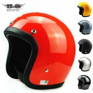Strong Motocycle Helmet Japanese Low Profile Fiberglass Shell 500TX Cafe Racer