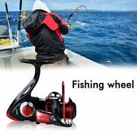 Ultra Smooth 13BB Spinning Reel Metal Spool Folding Saltwater Fishing Reel Gear