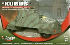 """Mirage 1/72 (20mm) """"Kubus"""" Panzerwagen - Warschau Aufstand 1944"""