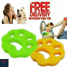 2X Pet Hair Remover for Laundry Reusable Washing Machine Dog Cat Fur Catcher UK