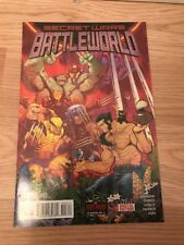 Secret Wars:Battleworld#3 1St Mention Of Weapon H/ Hulk Wolverine Hybrid!