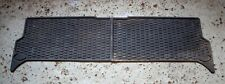 Genuine Land Rover Discovery 2 Rear Rubber Floor Mats Pair Back Left Right