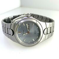 Citizen 100 Eco-Drive Wristwatch Stainless Steel  K53008-Y Grey Dial For Men