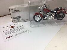 Harley-Davidson: 2002 FLSTF  Heritage Fat Boy Replica - Maisto # 787069 - 2004