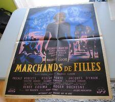 AFFICHE ORIGINALE DU FILM RAREMARCHANDS DE FILLES - 16 ans 60x80 cm