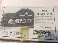 CN Group 3 Station, HO Scale, Kanamodel Products Kit 109C