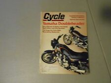 JUNE 1981 CYCLE MAGAZINE,YAMAHA SECA 750,VIRAGO 750 TWINS,DAYTONA ,GASAHOL,TOURS