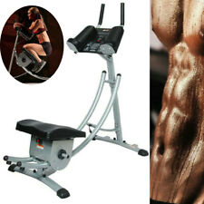 New listing Abdominal Exercise Machine ABS Mat Crunch Muscle Fitness Body Roller Gym