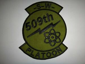 US Army 509th Ingenieur Bataillon Sw Platoon Patch