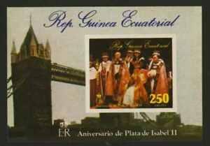 Equatorial Guinea MIBK 257 MNH Queen Elizabeth Coronation, Tower Bridge